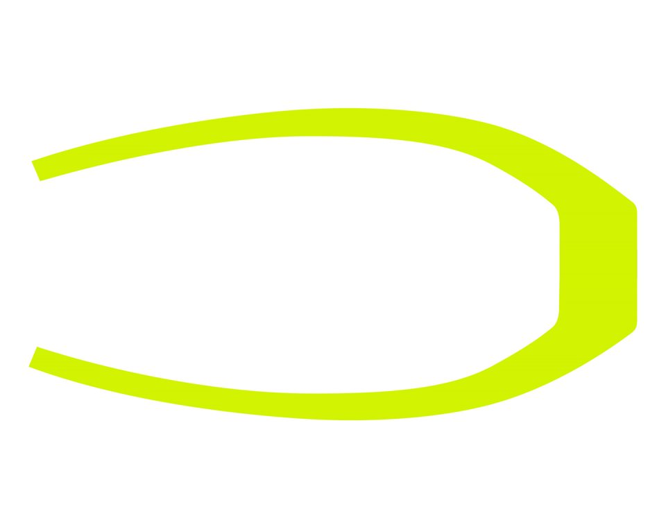 305MM Rear Fender Decal - Lime Squeeze