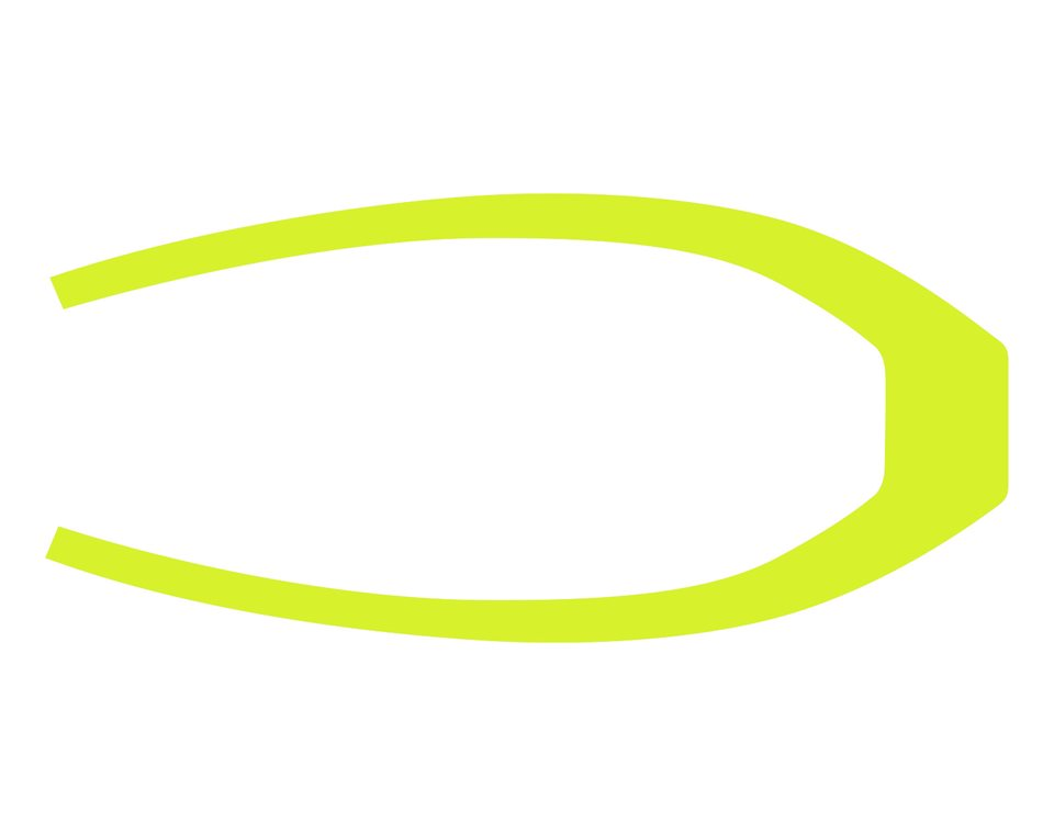 265MM Rear Fender Decal - Lime Squeeze