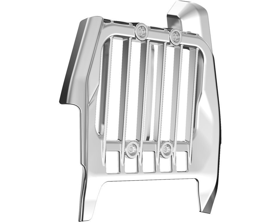 Pinnacle Oil Cooler Cover - Chrome