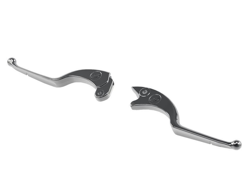 Clutch and Brake Lever Kit - Chrome