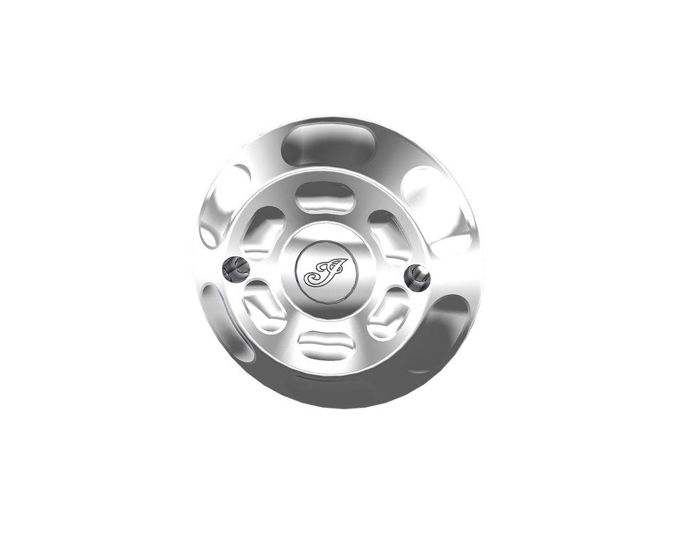 Billet Stator Cover - Chrome