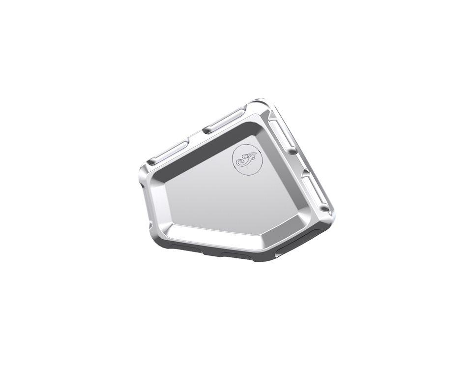 Billet Midframe Cover - Chrome