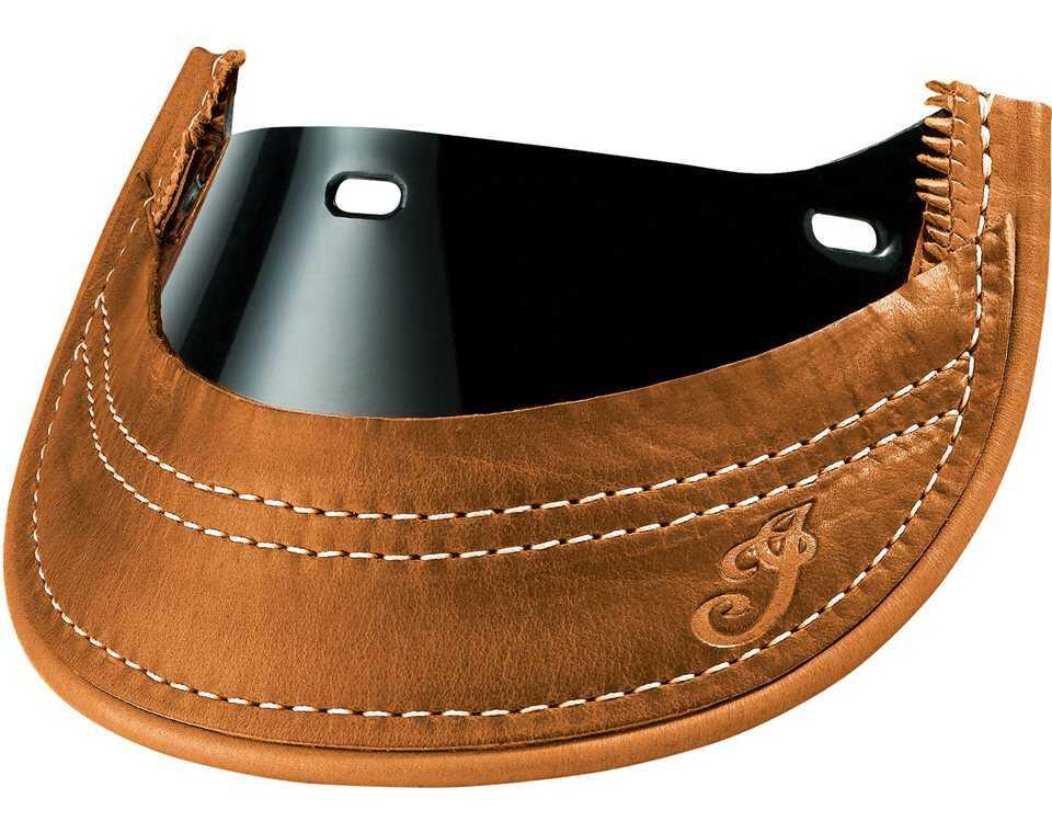 Genuine Leather Front Mud Flap - Desert Tan