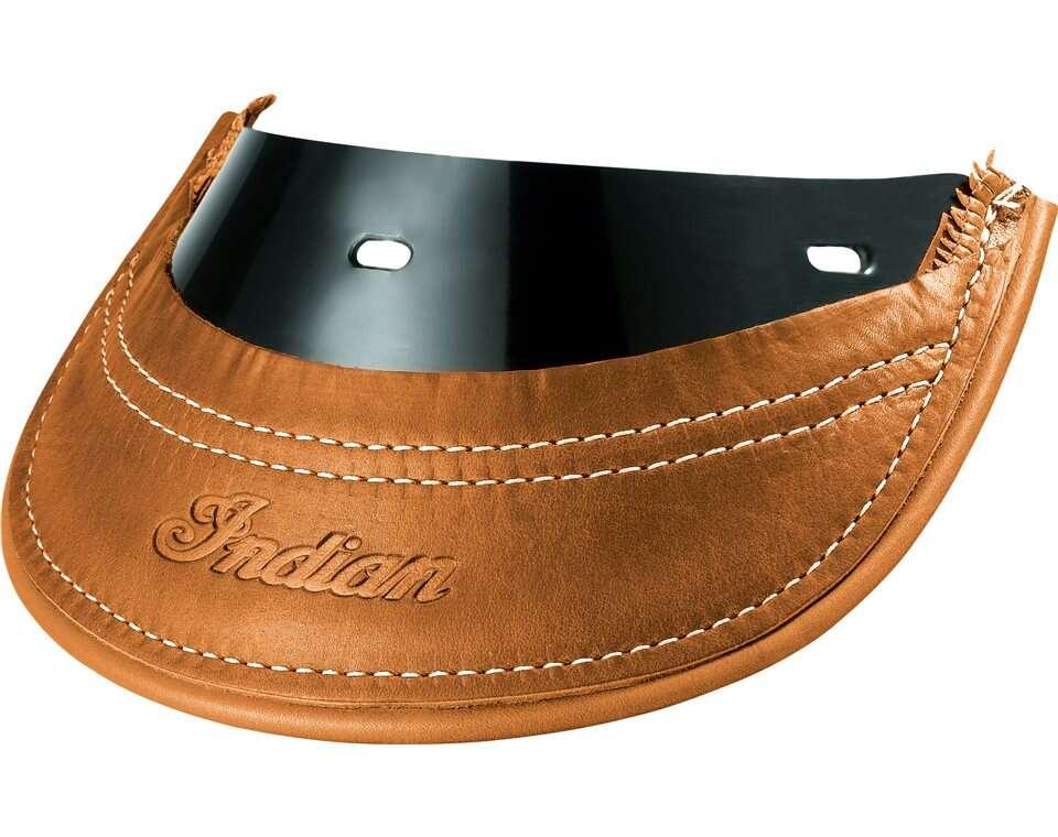 Genuine Leather Rear Mud Flap - Desert Tan