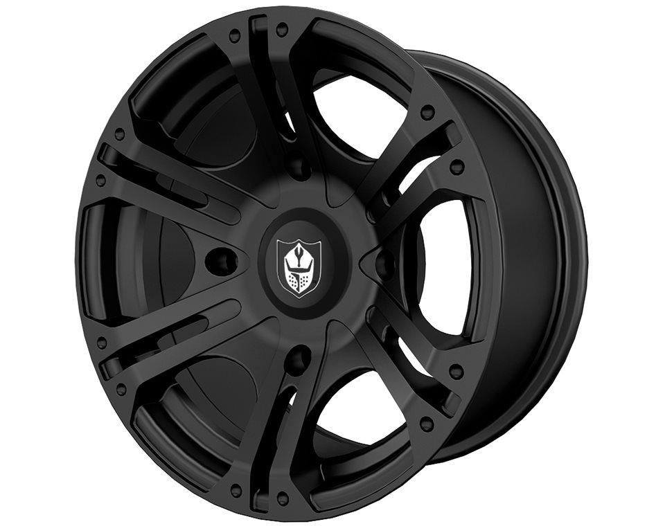Pro Armor® Sixr- Matte Black- Rear