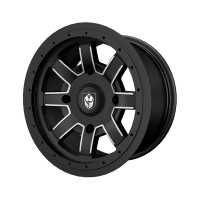 Pro Armor® Reblr Wheel, Matte Black Rear R14