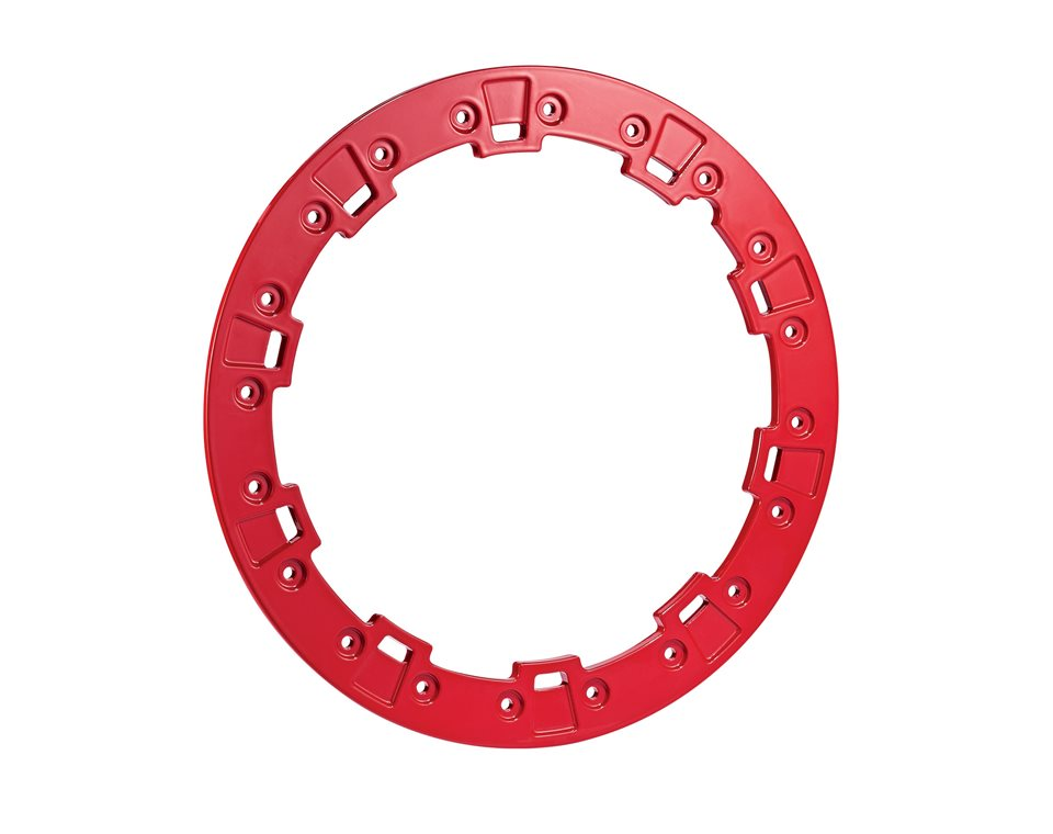 """Pro Armor® Forged Beadlock Ring - Indy Red - 15"""""""