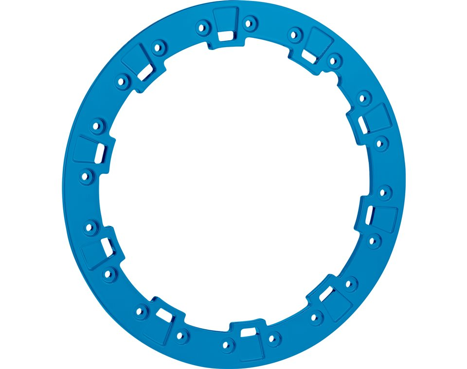 "Pro Armor® Forged Beadlock Ring - VooDoo Blue - 15"""