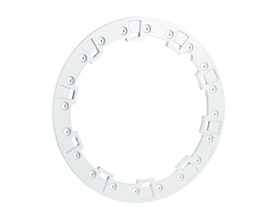"Pro Armor® Forged Beadlock Ring - White - 14"""