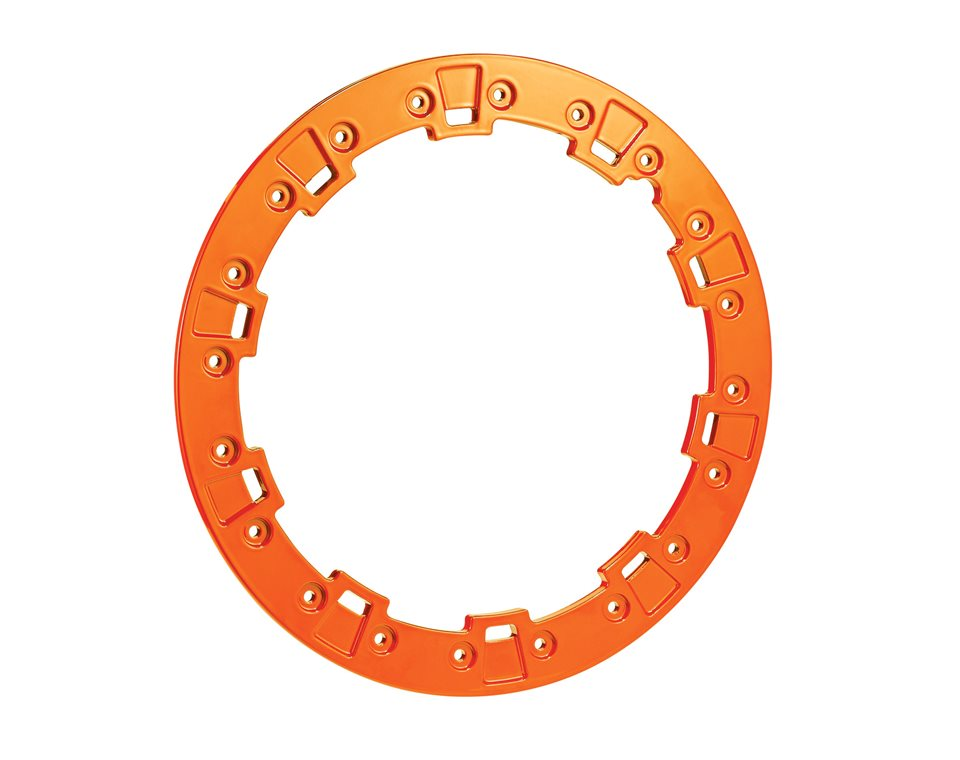 Pro Armor® Forged Beadlock Ring - Orange Crush - 14""