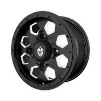 Pro Armor® Hexlr Wheel, Matte Black Front/Rear R15