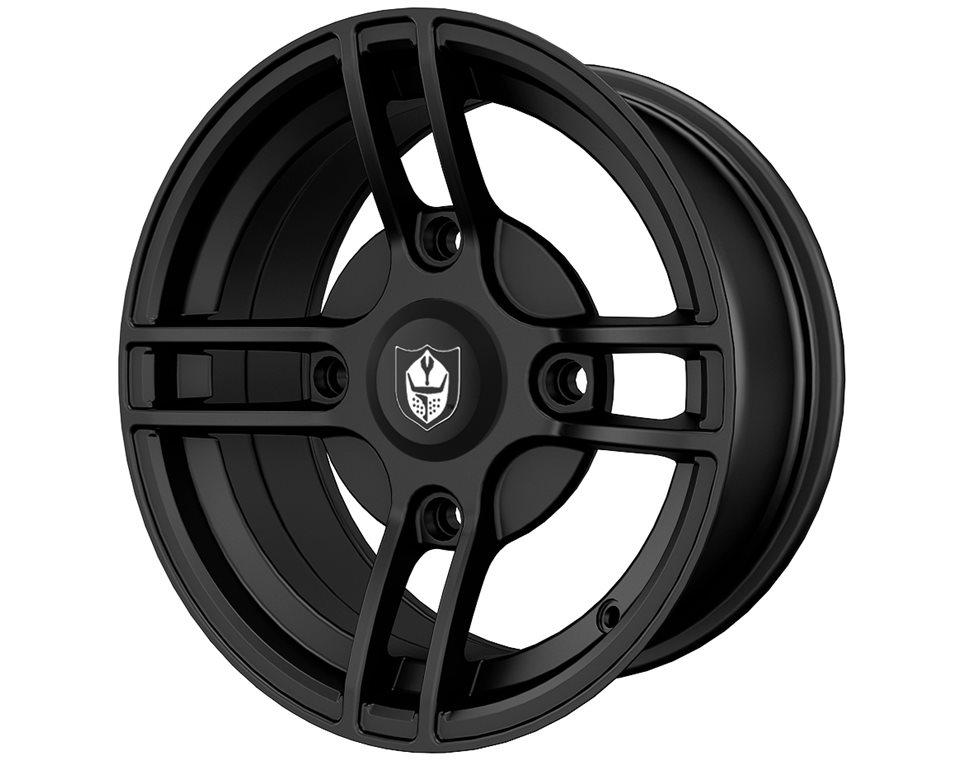Pro Armor® Split- Matte Black- Front