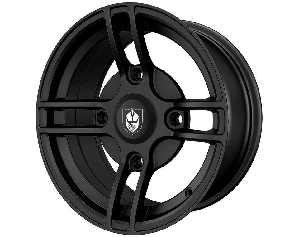 Pro Armor® Split Wheel, Matte Black Rear R14