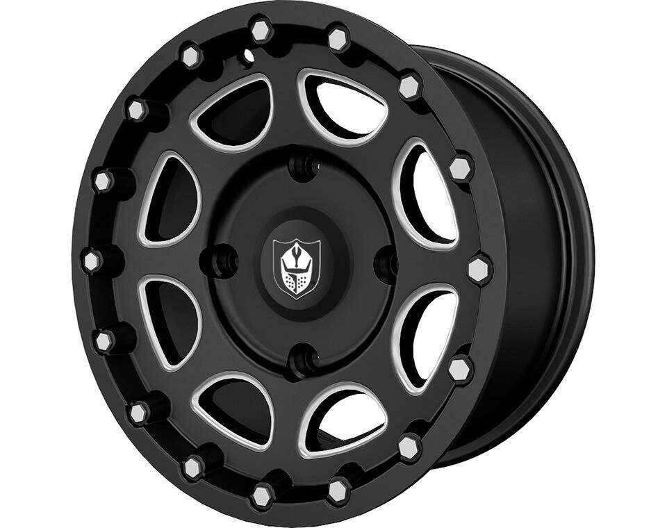 Pro Armor® Shackle Wheel, Accent Rear R14