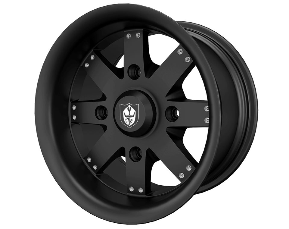 Pro Armor® Amplify Wheel, Matte Black Rear R14