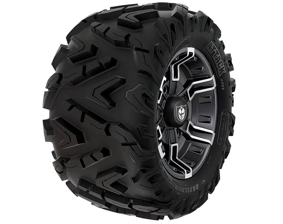 Pro Armor® Wheel & Tire Set: Buckle & Attack, Accent, 26R14