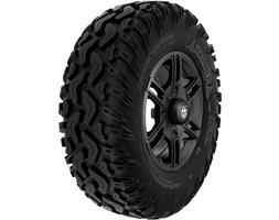 Pro Armor® Wheel & Tire Set: Wyde & Hammer, Matte Black, 30R15