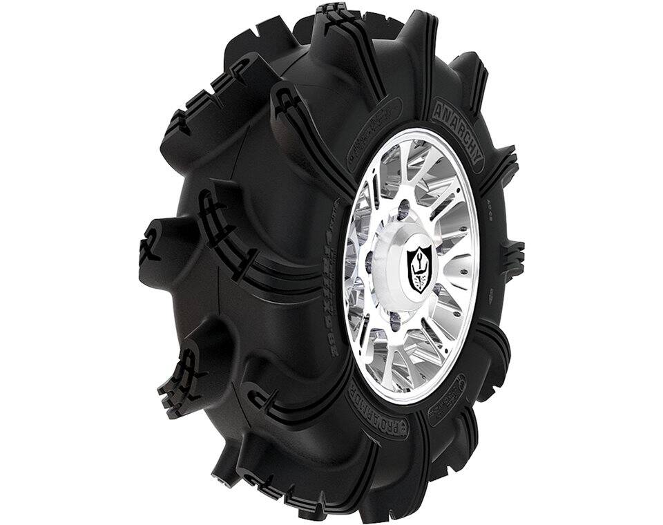 Wheel & Tire Set: Pro Armor® Anarchy & Thrasher- Luster