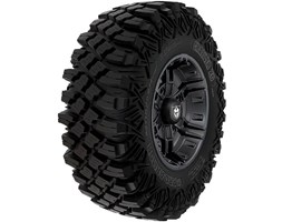 Pro Armor® Wheel & Tire Set: Buckle & Crawler XG, Matte Black, 30R14