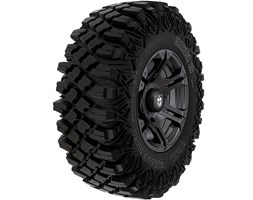 Pro Armor® Wheel & Tire Set: Sixr & Crawler XG, Matte Black, 30R14