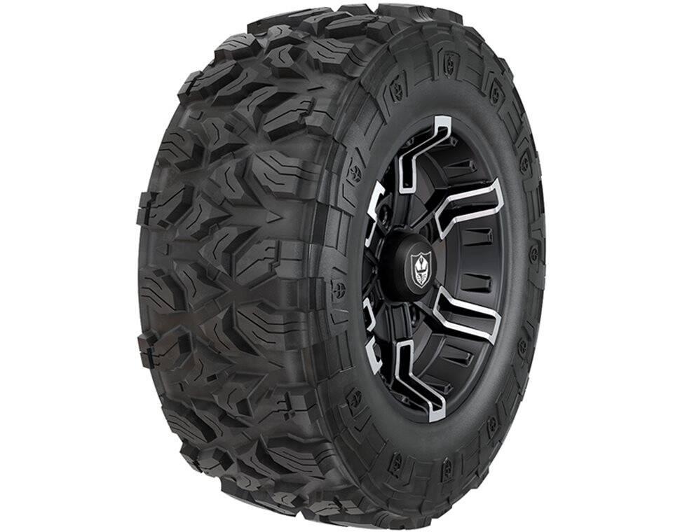 Pro Armor® Wheel & Tire Set: Buckle & Harvester®, Accent, 27R14