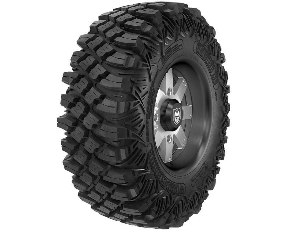Wheel & Tire Set: Pro Armor® Crawler XG & Amplify- Matte Black