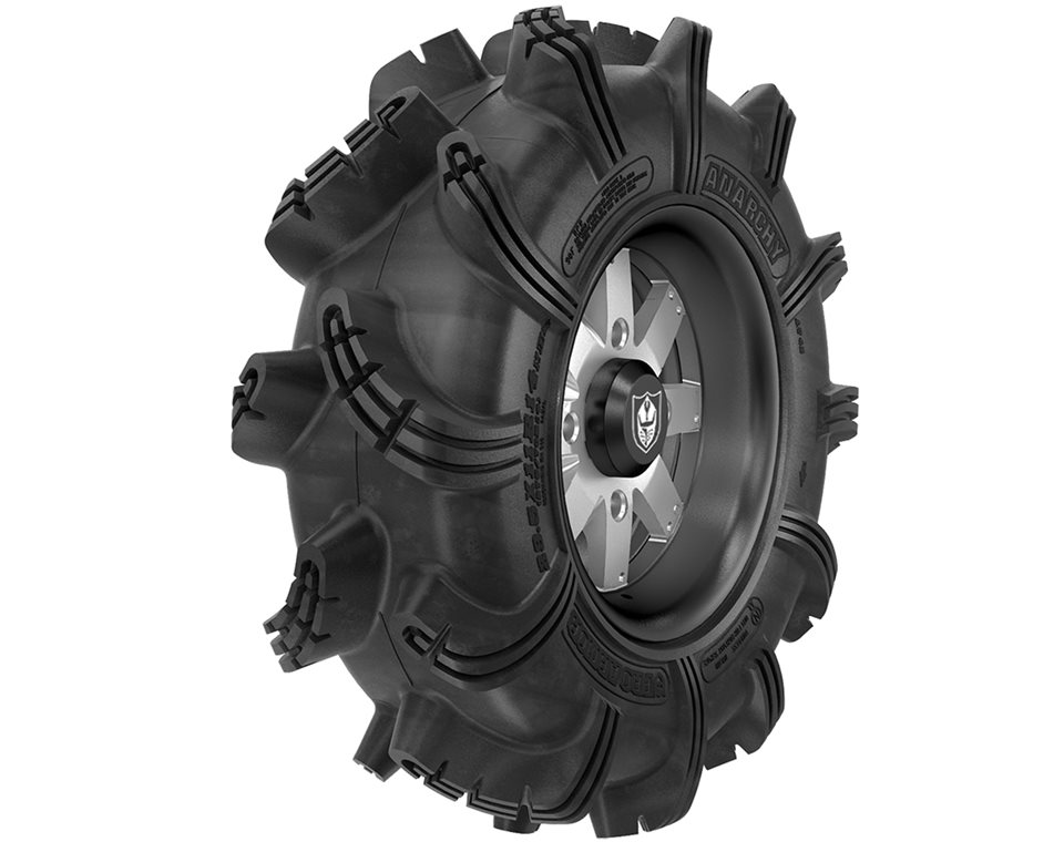 Wheel & Tire Set: Pro Armor® Anarchy & Amplify- Accent