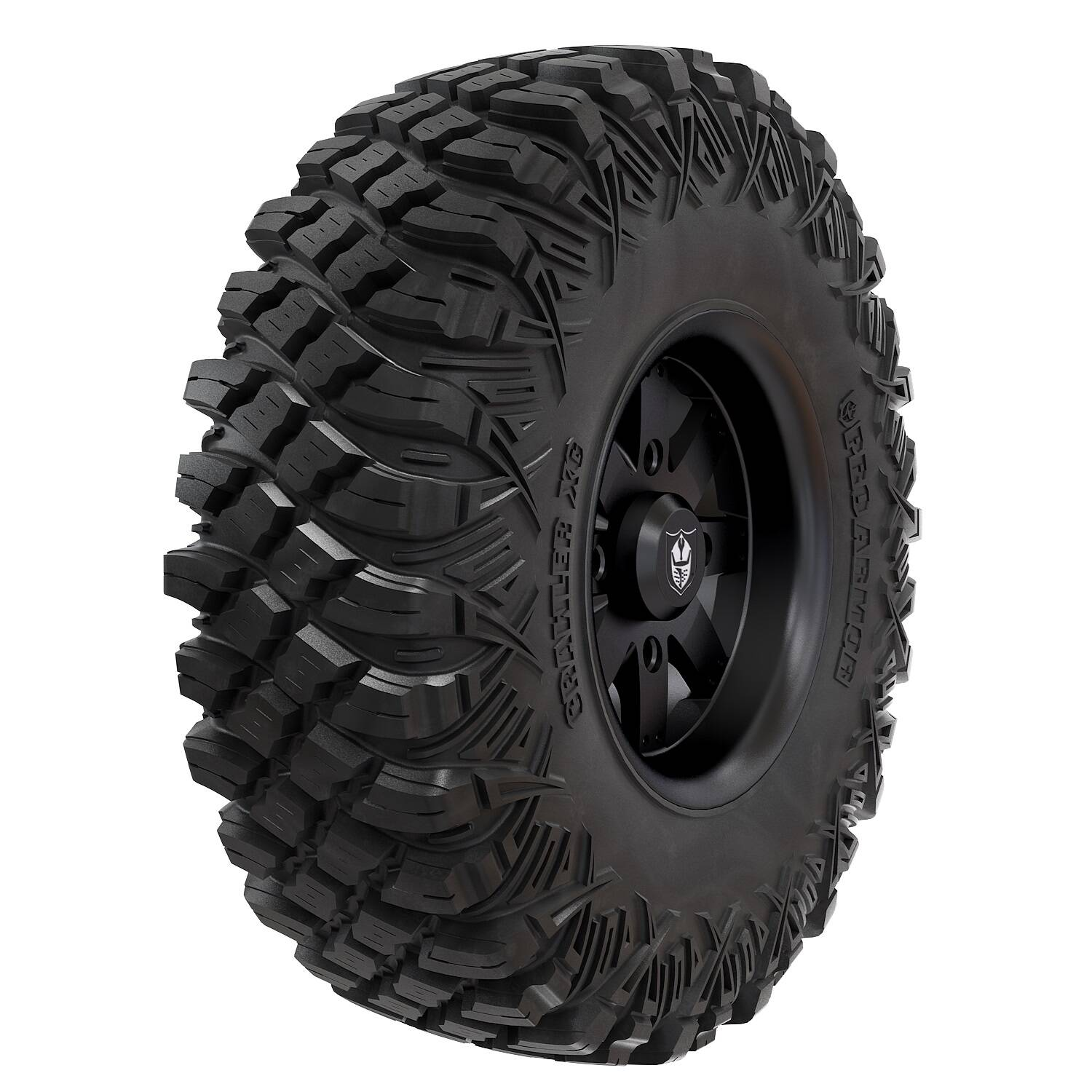 "Wheel & Tire Set: Pro Armor® Crawler XG 32"" & Amplify- Accent"