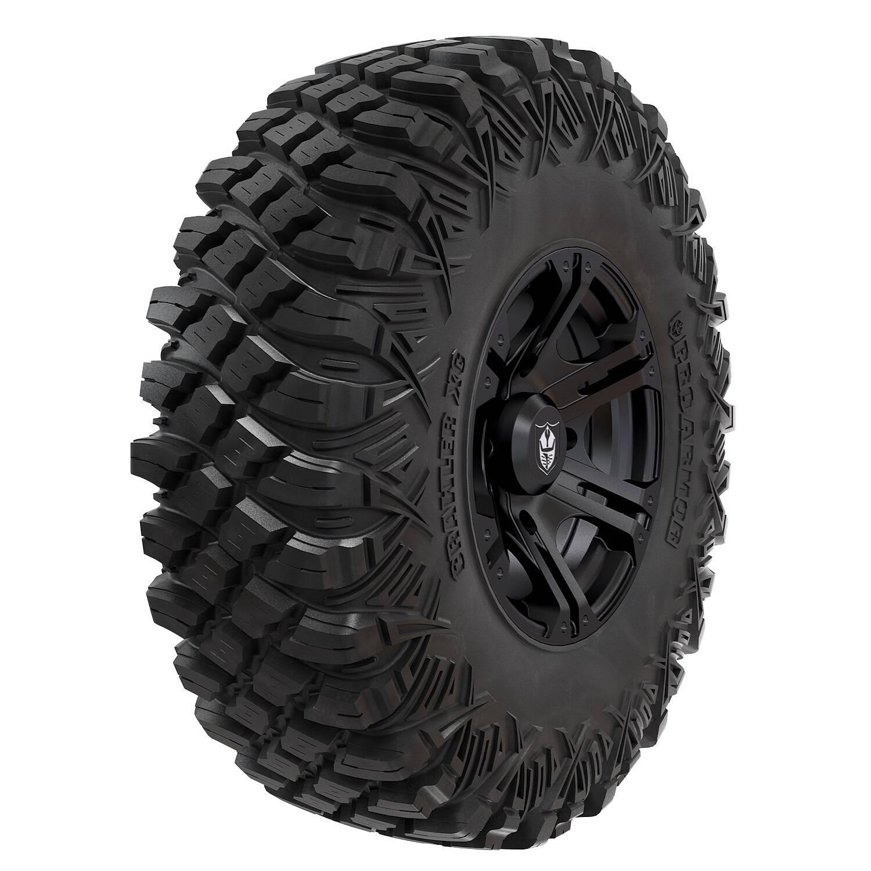 "Wheel & Tire Set: Pro Armor® Crawler XG 32"" & Sixr- Matte Black"