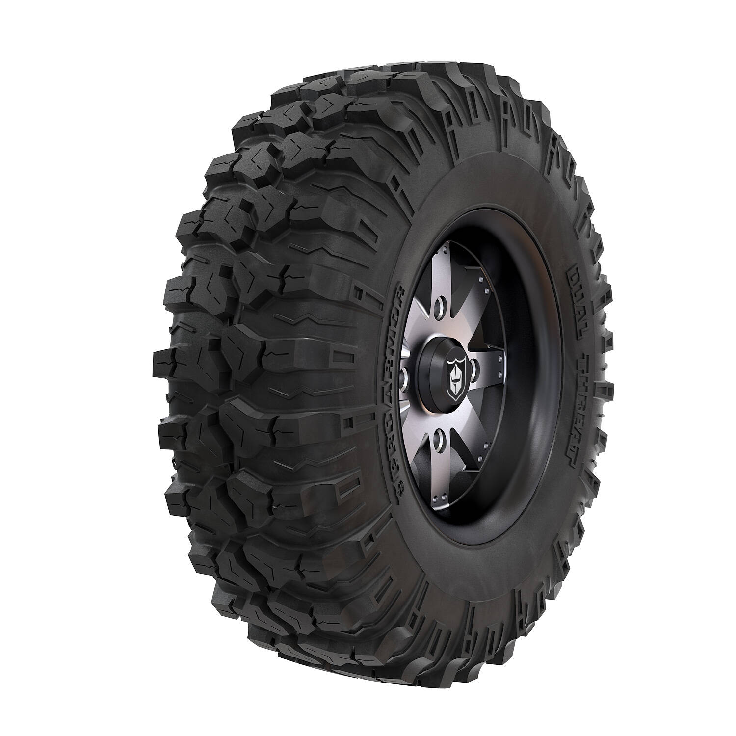 Pro Armor® Wheel & Tire Set: Amplify - Accent & Dual-Threat