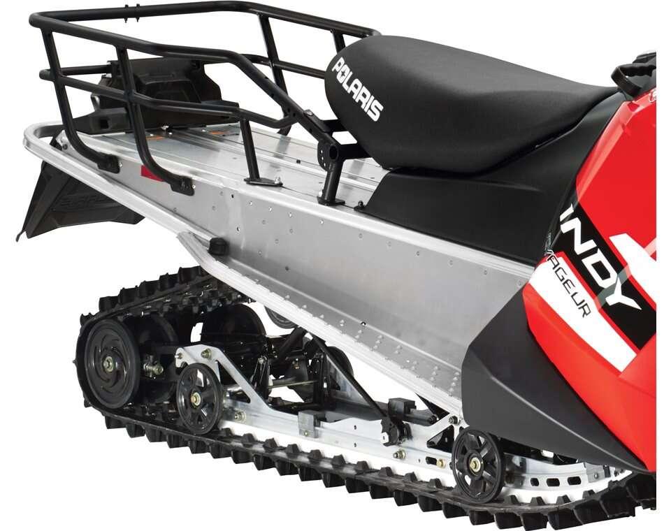 Polaris Snowmobiles Voyageur 155 Extreme Rear Rack