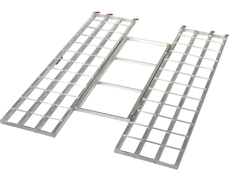 Aluminum Folding Ramps >> Lightweight Aluminum Tri Fold Ramps Polaris Sportsman