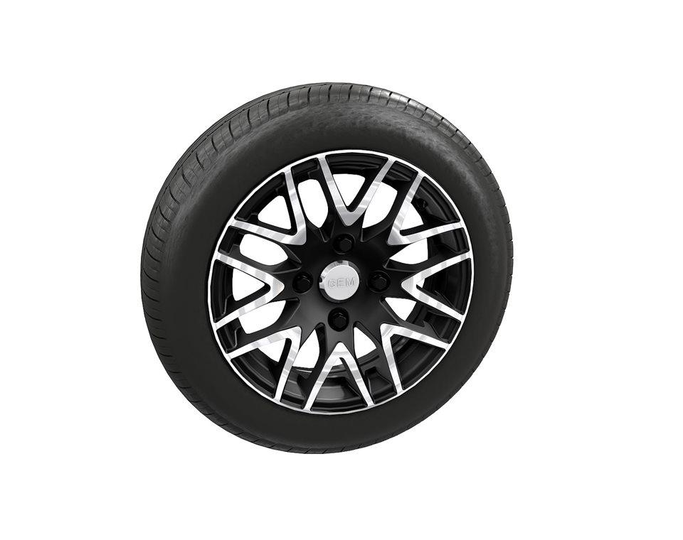 Aluminum Wheel and Rim (14x165)