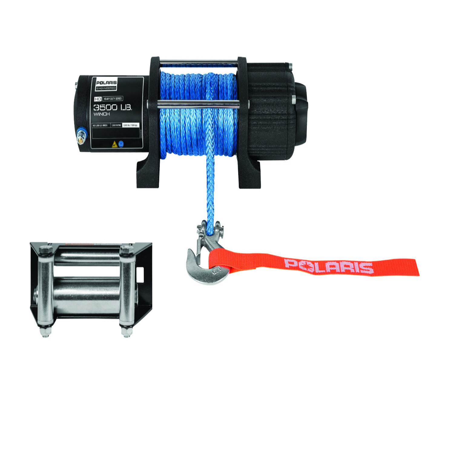 3,500 lb. Capacity Integrated Winch Kit with 50 ft. Synthetic Rope