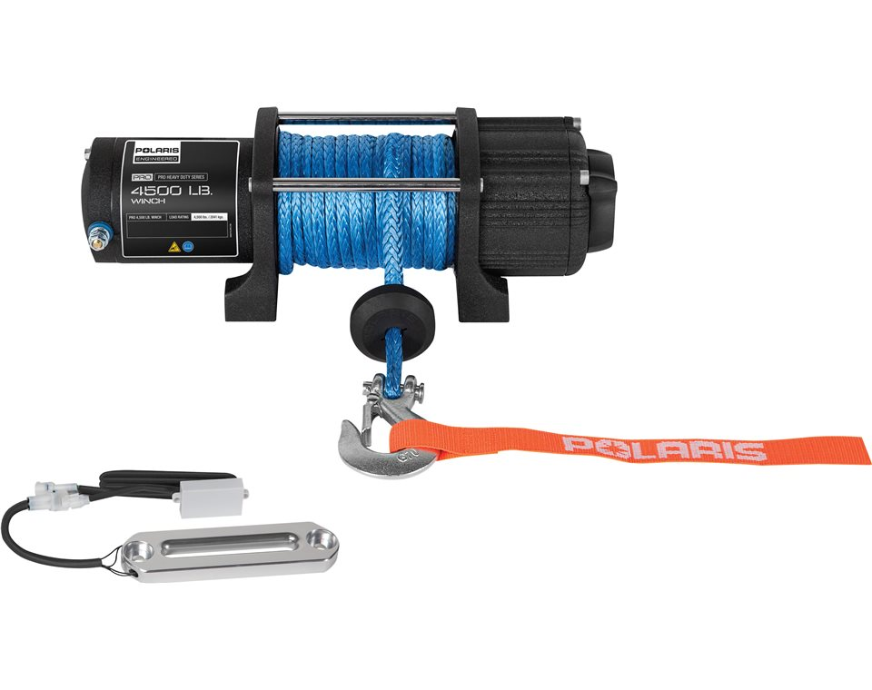 Polaris U00ae Pro Hd 4 500 Lb  Winch