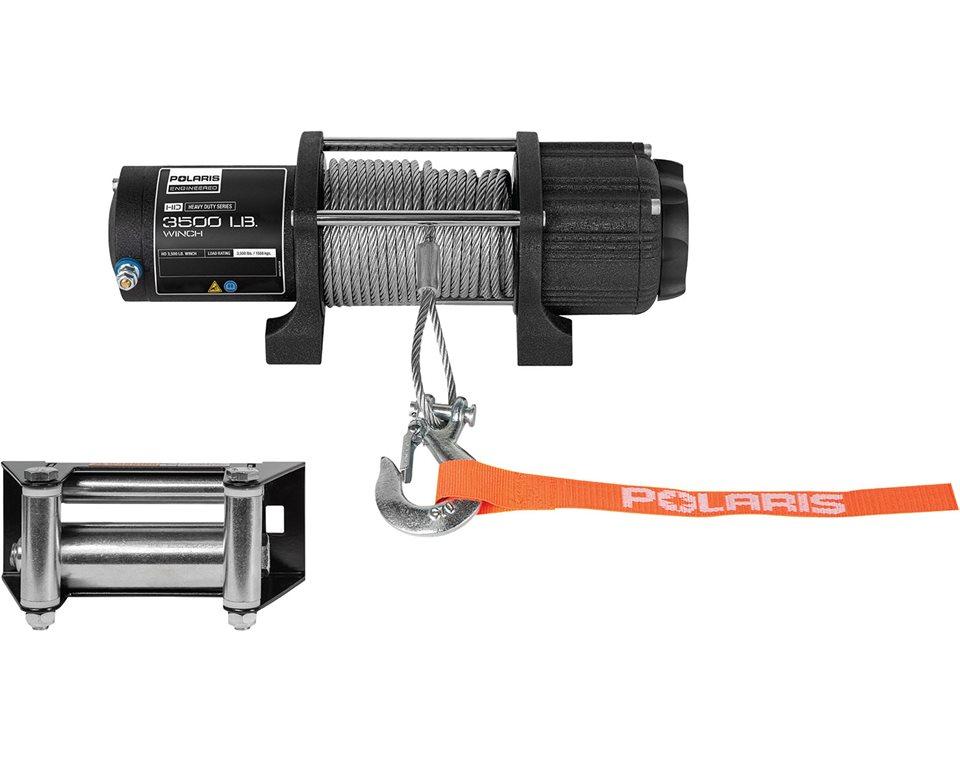 polaris� hd 3,500 lb integrated winch Polaris Sportsman Ignition Wiring Diagram