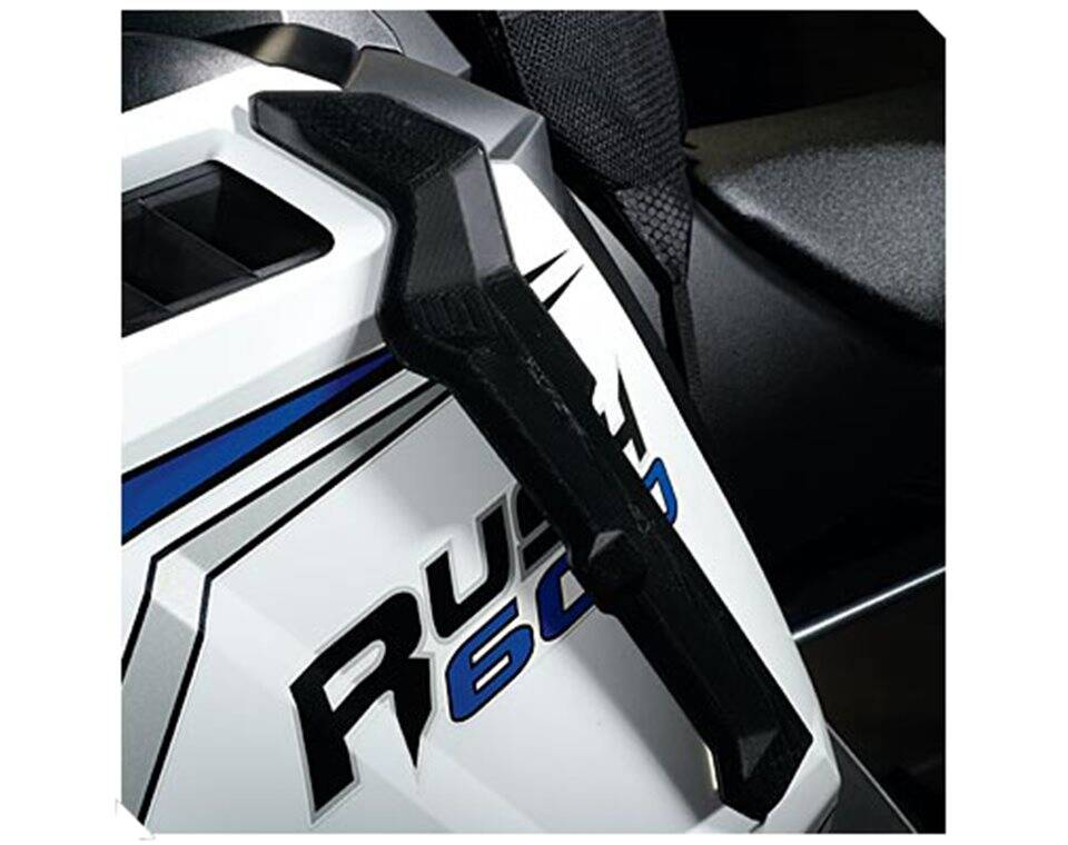 Snowmobile Wind Deflectors - Black