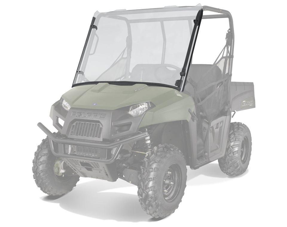 Polaris Lock Ride Poly Rear Panel 2015-2019 Ranger 500 570 Crew 570-4 EV OEM