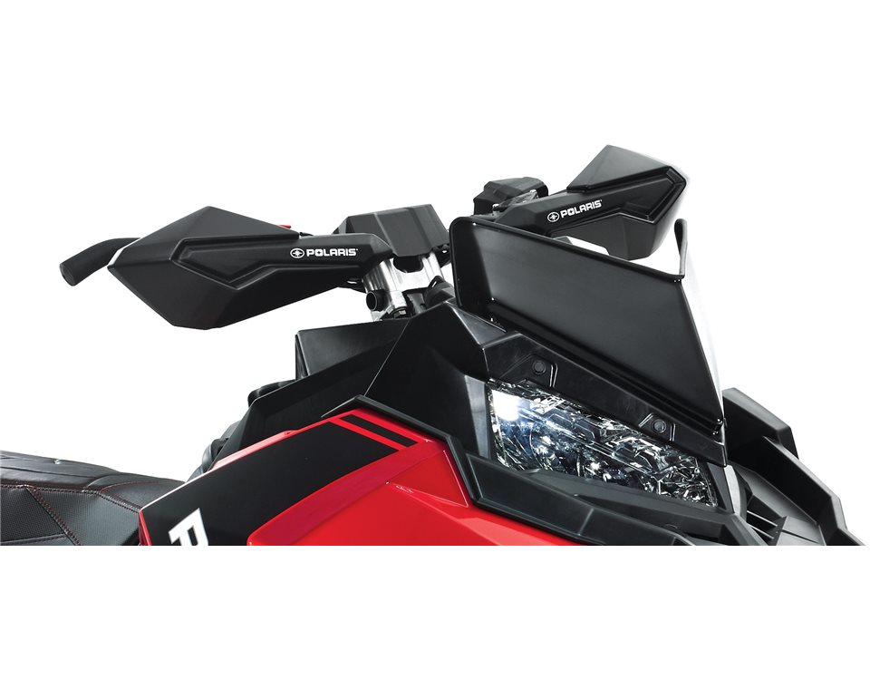 Snowmobile Hand Guards - Black