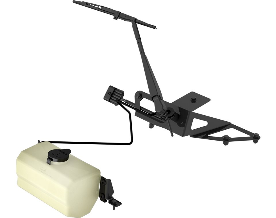 Windshield wiper washer kit polaris rzr for Windshield wiper motor kit