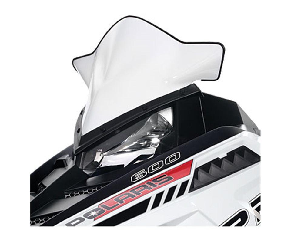 Pro-Ride Mid Windshield- White Gloss