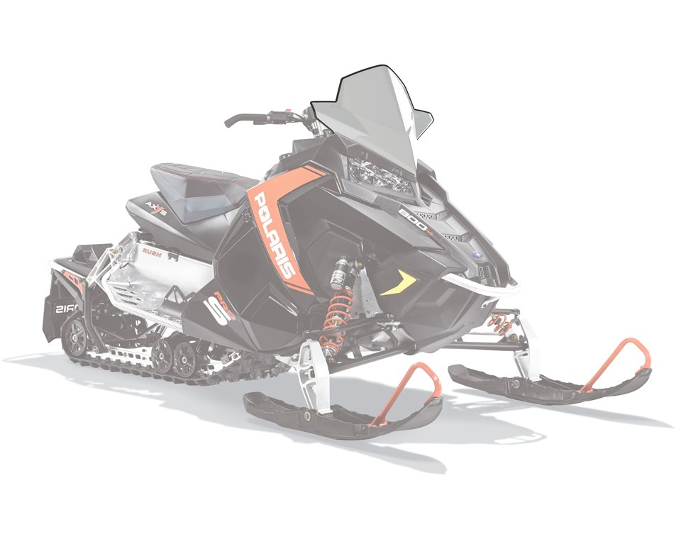 AXYS® Snowmobile Mid Windshield - White