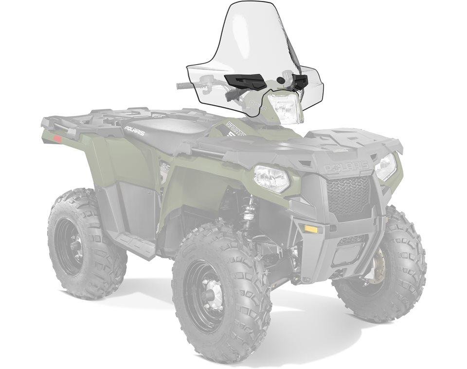 Lock & Ride® Tall Windshield- Clear