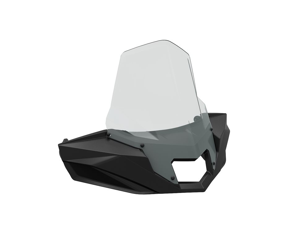 Ultimate Series Windshield - Mid View