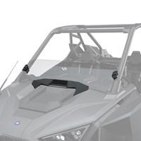 Lock & Ride ® Half Windshield - Hard Coat Poly, Mid