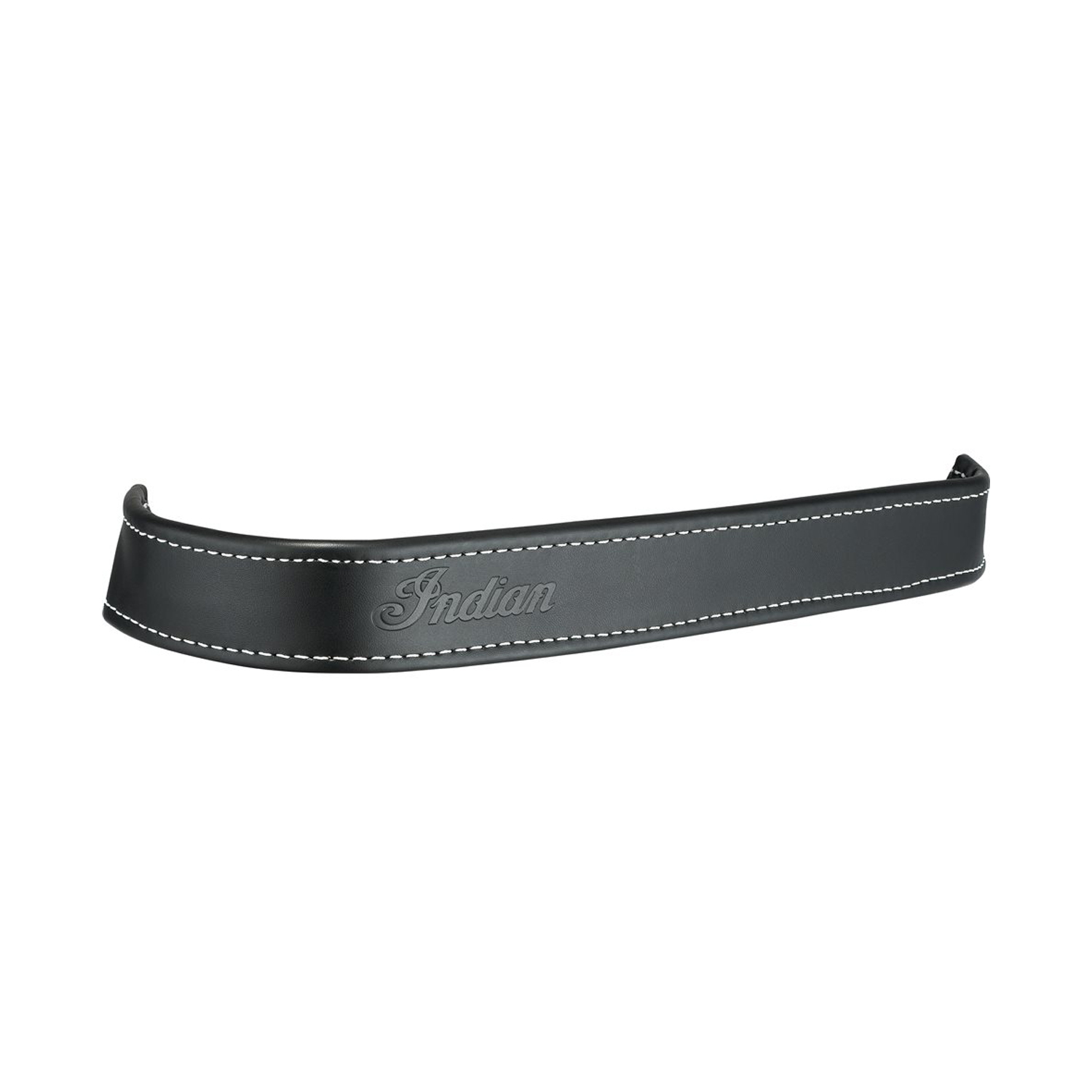 Genuine Leather Floorboard Trim - Black