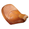 Genuine Leather Vinyl Extended Reach Rider Seat, Desert Tan - Image 1 of 5