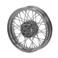 Front Laced Wheel - Chrome
