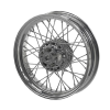 Front Laced Wheel - Chrome - Image 1 of 3