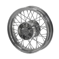 Rear Laced Wheel - Chrome